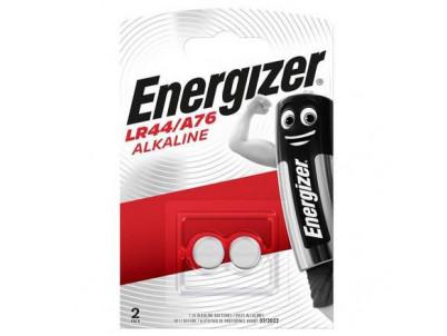 ENERGIZER LR44/A76, Batérie, AG13, G13A, 1,5V, 2ks