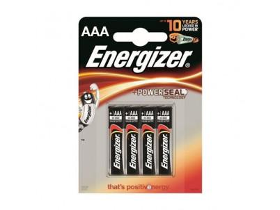 ENERGIZER PowerSeal AAA, Batérie, LR03, 1.5V 4ks