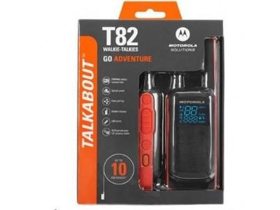 MOTOROLA T82 TALKABOUT black/orange 2ks