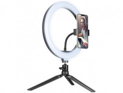 TRACER LED Ring Lamp, Držiak a lampa na mobil, 9cm