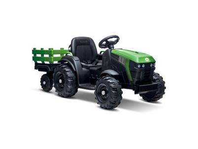 BEC 8211 El. traktor + príves BUDDY TOYS