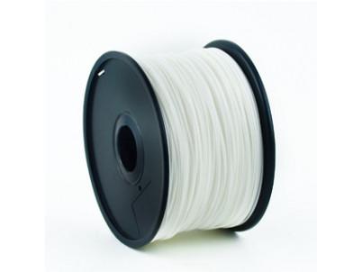 GEMBIRD Náplň 3D 100mm PLA/1.75mm/1kg White