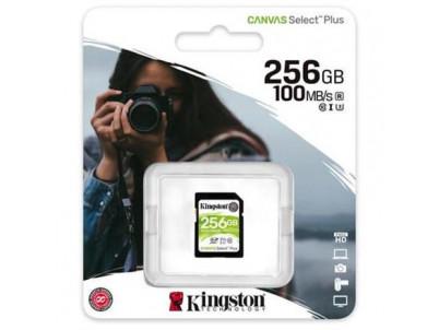 KINGSTON SDXC Canvas Select Plus 256GB 100MB/s UHS