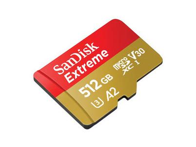 183569 Extreme microSDXC 512GB SANDISK