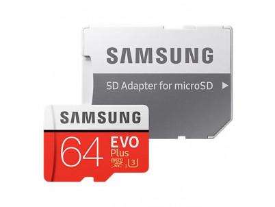 SAMSUNG Micro SDXC EVO+ 64GB (2020)