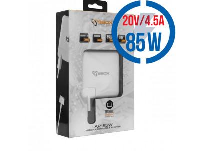 SBOX AP-85W, MegSafe2, Adaptér pre notebook 85W