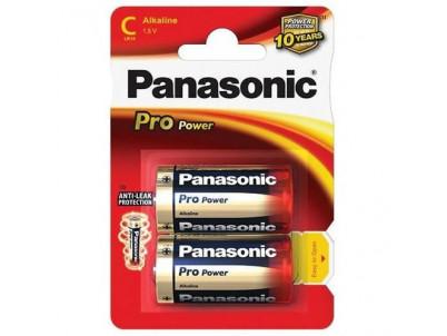 PANASONIC PRO POWER, Batérie, C, LR14, 1.5V, 2ks
