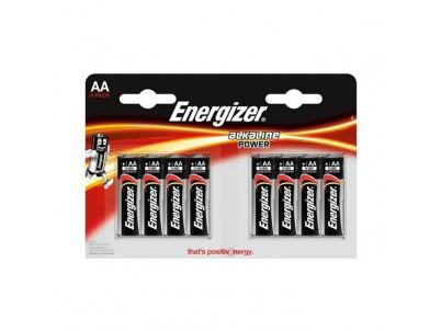ENERGIZER Alkaline Power, Batérie, AA, LR6, 8ks