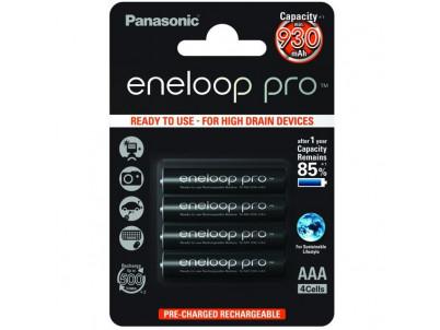 PANASONIC Eneloop Pro, Batérie, BK-4HCCE, AAA, 4ks