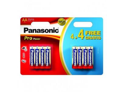 PANASONIC PRO POWER, Batérie, AA, LR6, 1,5V, 8ks