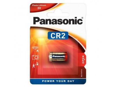 PANASONIC Lithium, Batéria, CR2, EL1CR2, 3V, 1ks