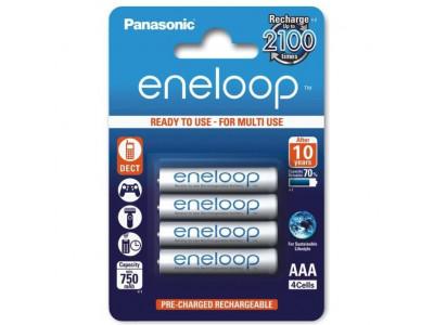 PANASONIC Eneloop, Batérie BK-4MCCE, AAA, 4ks