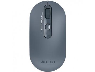 A4Tech FG20 FSTYLER, Bezdrôtová myš USB, modrá