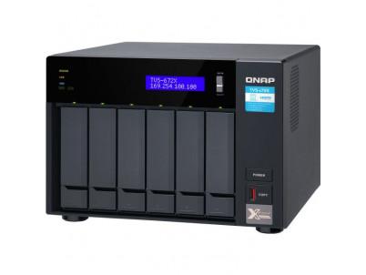 QNAP TVS-672X-i3-8G NAS Server 6xHDD 8GB