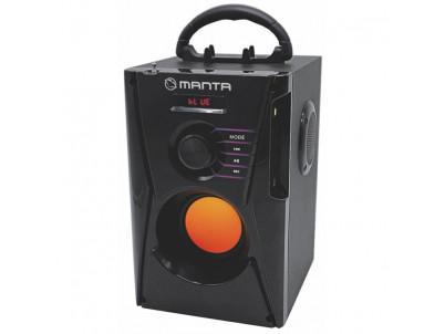MANTA SPK810, Bezdrôtový reproduktor, FM, USB