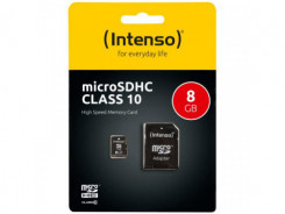 INTENSO Micro SDHC karta 8GB Class10
