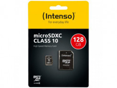 INTENSO Micro SDXC karta 128GB Class10