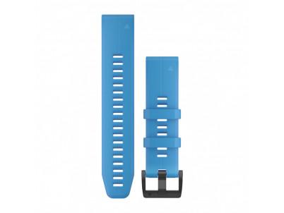 GARMIN Silikonový remienok QuickFit 22 - Cyan Blue