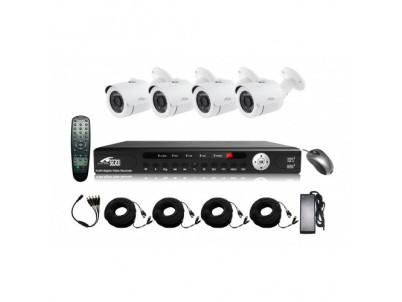 SECRON kamerový set - AHDOV21FB-UA20