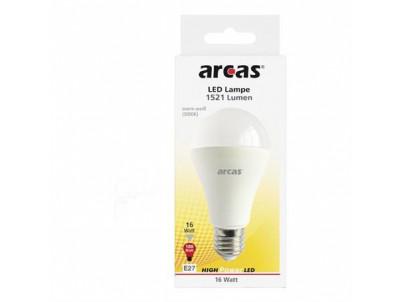 ARCAS LED žiarovka E27/16W/3000K/1521lm/397 20040
