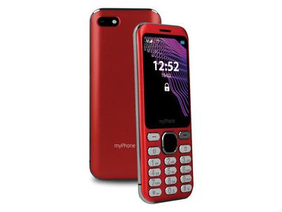 Maestro tlačidlový červený myPhone