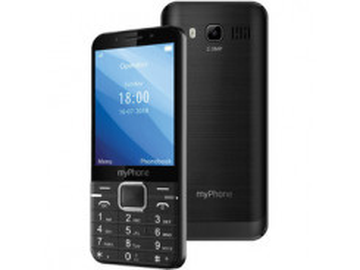 Up tlačidlový čierny myPhone