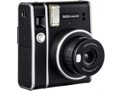 FujiFilm Instax Mini 40, čierny