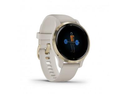 GARMIN VENU 2S, Smart hodinky, L Gold/L Sand