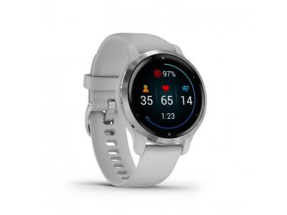GARMIN VENU 2S, Smart hodinky, Silver/Mist Gray