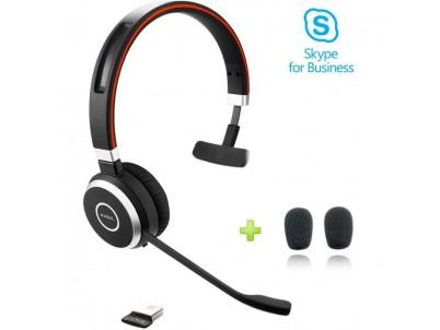 JABRA Evolve 65 Mono, USB-BT, MS (Skype)