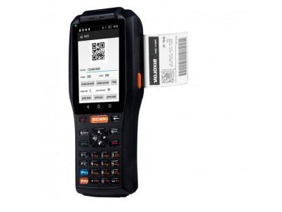 QUNSUO Mobilné PDA 1D, Android V6.0 s tlačiarňou