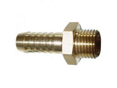"Nátrubok hadicový 13 mm, 1/4"" AG"
