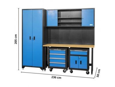 Dielenský nábytok GWS, 6-dielna súprava