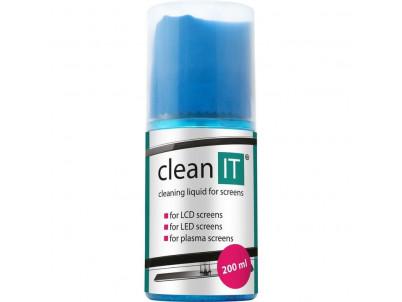 CLEAN IT CL-180, Čistiaci roztok s utierkou 200 ml