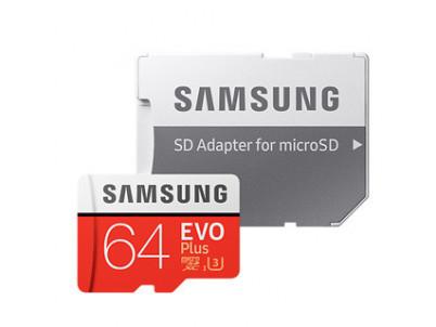 SAMSUNG Micro SDXC EVO+ 64GB (2017)