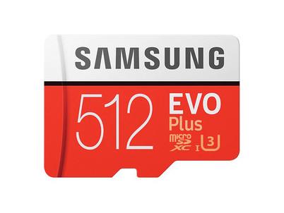 MicroSDXC 512GB EVO Plus+SD adap SAMSUNG