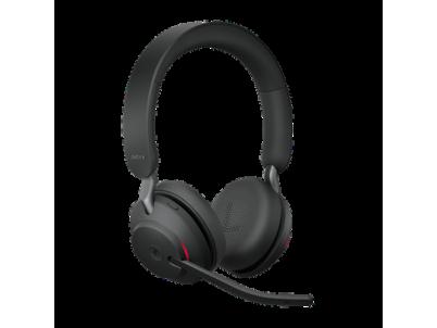 JABRA Evolve2 65, USB-A, Black, Stereo MS, čierne