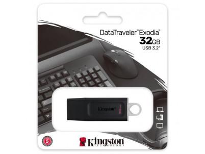 KINGSTON DataTraveler EXODIA 32GB blk/wht