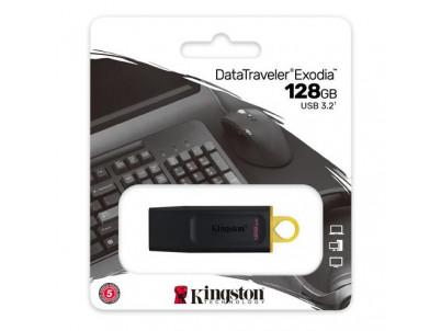KINGSTON DataTraveler EXODIA 128GB blk/yel