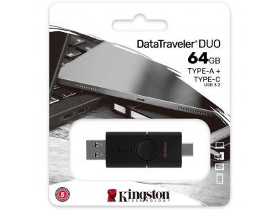 KINGSTON DataTraveler DUO USB Type C, 64GB