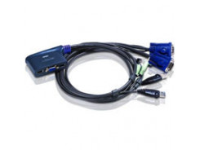 ATEN CS62US KVM prepínač pre 2PC/VGA/USB