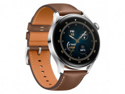 HUAWEI Watch 3, Brown Leather