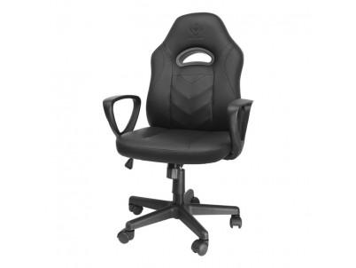 DELTACO GAM-094, Herná stolička pre deti, čierna