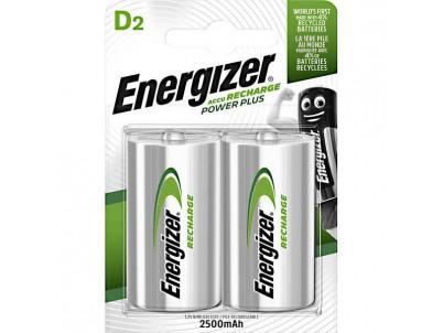 ENERGIZER Nabíjateľné batérie, D, LR20, Ni-MH, 2ks