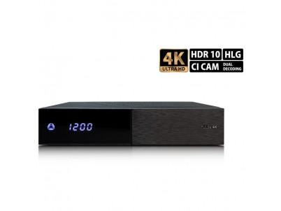 AB PULSe 4K (1x tuner DVB-S2X+, Satelitný prijímač