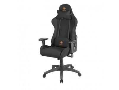 DELTACO GAM-051-B, Herná stolička, čierna