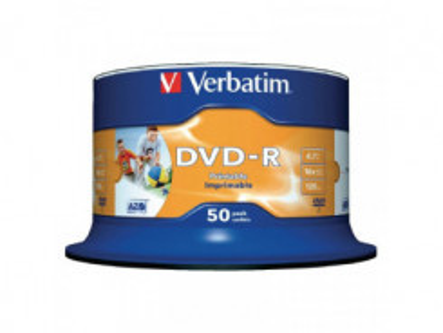 DVD - R Verbatim 4.7GB 16x CAKE 50pcs 43533