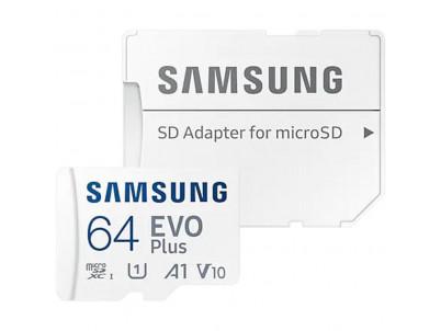 SAMSUNG Micro SDXC EVO+ 64GB (2021)