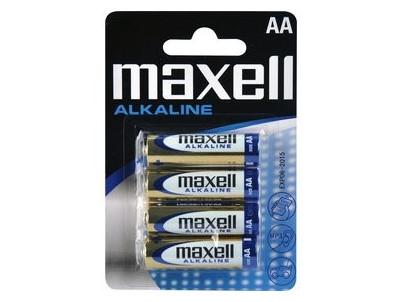 LR6 4BP AA Alk MAXELL