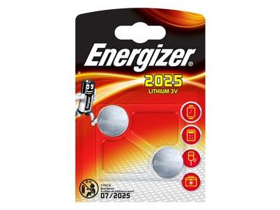 BAT LITHIUM CR2025 twin pack _ENERGIZER